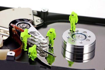 Desfragmente um arquivo, diretório ou todo o disco rígido