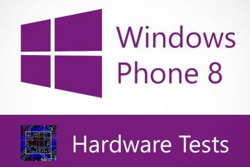 Verifique o hardware do seu Windows Phone