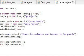 Programação orientada a objetos: herança