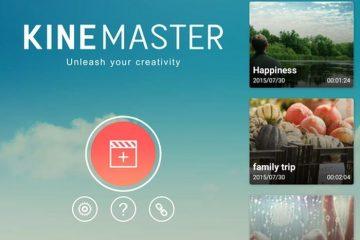 KineMaster, um editor de vídeo gratuito e profissional para Android