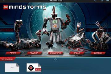 Dê vida aos seus robôs MINDSTORMS EV3 com o aplicativo oficial