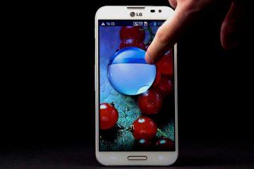 Bloqueie o seu dispositivo estilo LG Optimus G