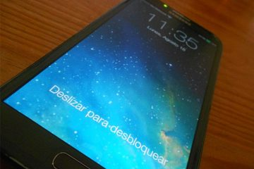 Instale a tela de bloqueio do iPhone no Android