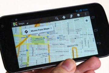 Como limpar seu histórico do Google Maps