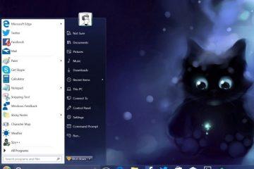 Coloque o menu Iniciar do Windows 7 no Windows 10