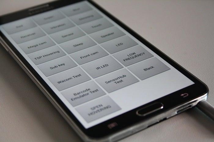 Acesse o menu oculto nos telefones Galaxy