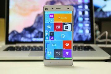 Uma possível ROM móvel do Windows 10 ameaça o Android