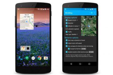 MiniMap, um mapa flutuante para Android