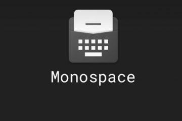 Experimente o Monospace Writer, o editor de texto minimalista
