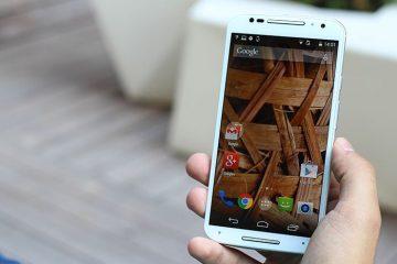 Coloque a tela de bloqueio do Motorola Moto X em qualquer Android