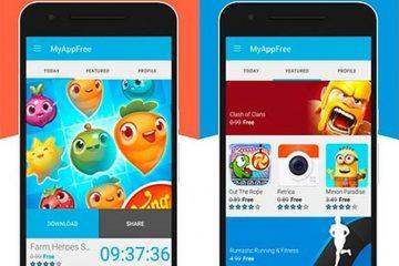 Receba gratuitamente um aplicativo de pagamento Android todos os dias com myAppFree