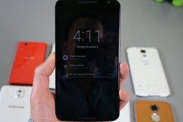 Mostramos como ativar o toque duplo para desbloquear o Google Nexus 6 sem root