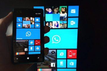 Compartilhe a tela do seu Nokia Lumia ao vivo com o Nokia Beamer