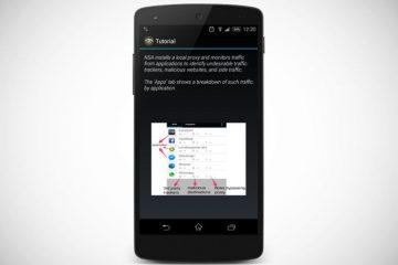 Descubra quais aplicativos o conectam a sites de rastreamento com o NoSuchApp