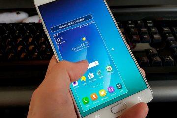 Como usar o Samsung Galaxy Note 5 com uma mão