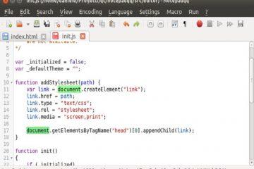 NotepadQQ, a alternativa do Ubuntu ao Notepad ++ que você deve tentar