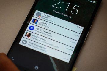 Recuperar notificações descartadas no Android