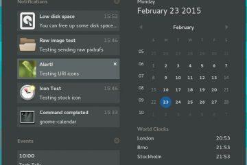 Desfrute de notificações do Android na área de trabalho do GNOME