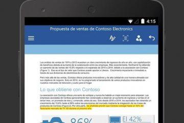 Microsoft atualiza seu pacote Office no Android e adiciona novos recursos