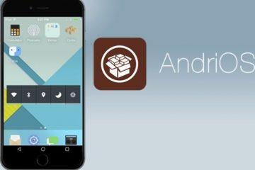 Apresentamos o AndriOS, a interface Android com experiência iOS