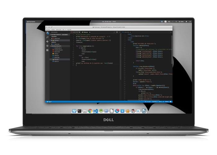 Código do XPS 13 ElementaryOS Visual Studio