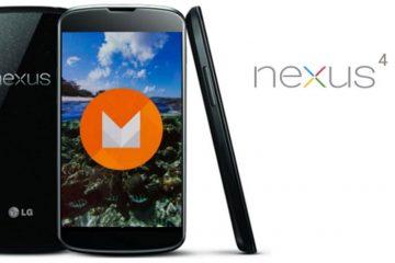 Chroma OS e a primeira ROM com Android 6.0 Marshmallow para o Nexus 4