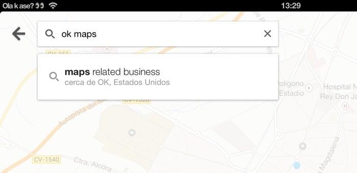 Ok, mapas no Google Maps