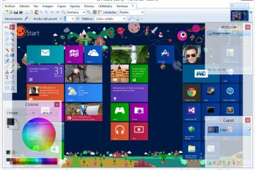 Como fazer capturas de tela no Windows 8 quando você estiver no Boot Camp, mesmo em aplicativos de metrô