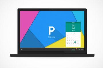 Papyros, nova distribuição Linux com Material Design
