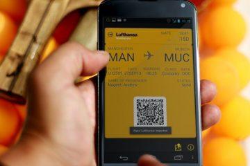 Gerencie seus ingressos, ingressos ou ingressos de cinema no seu terminal Android