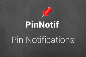 Como definir notificações importantes como raiz