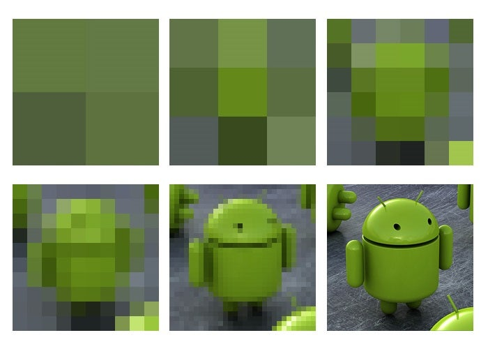 Pixelated Android