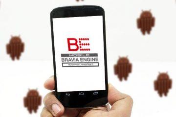 Melhore suas fotos com o mecanismo Bravia