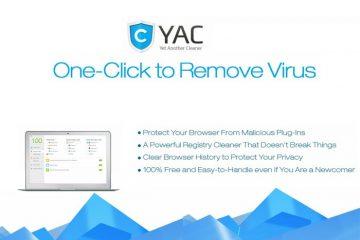 YAC, outra ferramenta para deixar nosso Windows limpo