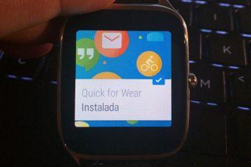 Responda às suas mensagens do smartwatch com o Quick for Wear