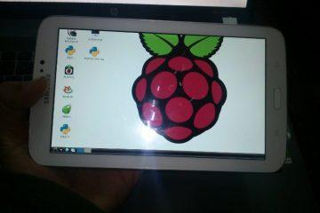 Use seu smartphone Android como uma tela para Raspberry Pi
