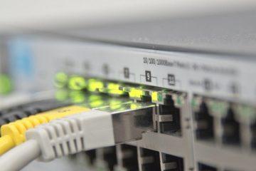 Ative o modo DHCP na sua placa de rede no console de comando