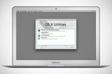 Como instalar o OS X Mavericks a partir de um USB