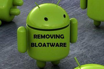 O que o bloatware traz para o seu terminal? Consome espaço?