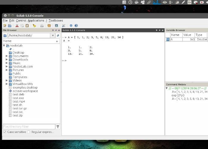 scilab-ubuntu