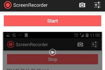 Grave sua atividade de tela com o Screen Recorder