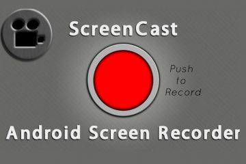 Descubra os cinco melhores aplicativos para gravar sua tela Android