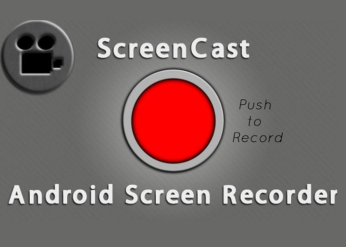 Logomarca do gravador de vídeo Screencast