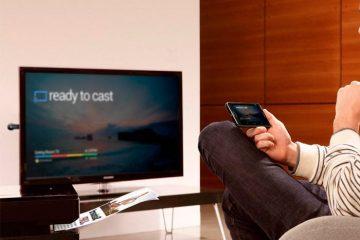 Ajuste facilmente a resolução de vídeo da saída HDMI ou Chromecast