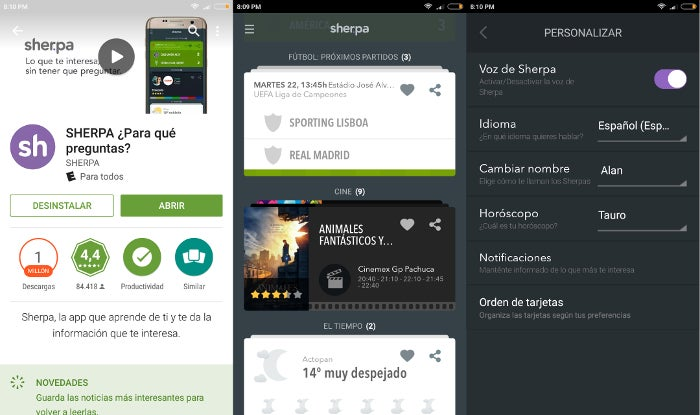 sherpa-assistant-voice-english-android-captures