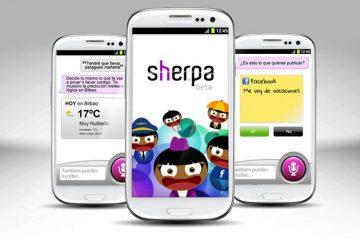 Sherpa, o assistente de voz em espanhol mais completo para Android