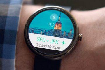 Altere facilmente o design do relógio no seu Android Wear