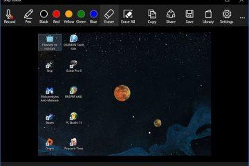 Snip, o novo editor para tirar capturas de tela no Windows 10