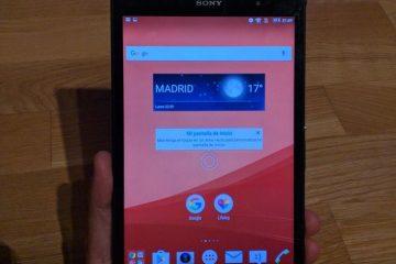 Atualize seu Xperia Z3 Tablet Compact para a versão mais recente do Android Marshmallow