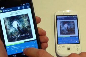 Transforme seu smartphone ou tablet em um alto-falante sem fio com o SoundSeeder Music Player